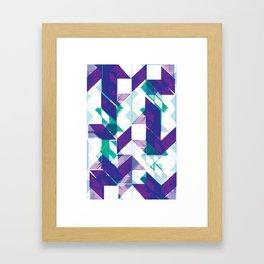 Violets are purple Framed Art Print