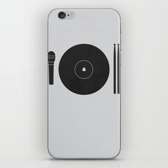 hungry to rock iPhone & iPod Skin