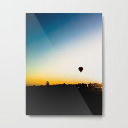 Balloon and the horizon  Metal Print
