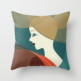 Venn Deco (Part III) Throw Pillow