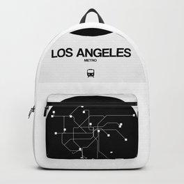 Los Angeles Black Subway Map Backpack