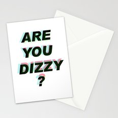 Are you dizzy?  Stationery Cards