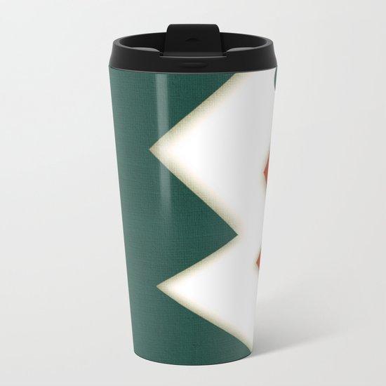Two Simple Fish Metal Travel Mug