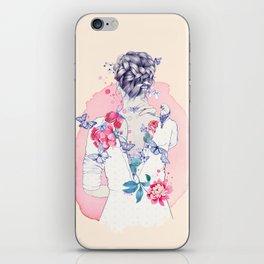 Undress me iPhone Skin