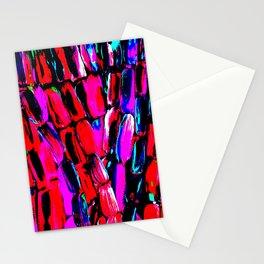 Dark Red Sugarcane Stationery Cards