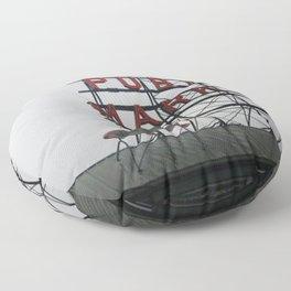 Public Market Floor Pillow