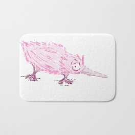 Small and pink Bath Mat