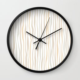 Between the lines doodle 3. #lineart Wall Clock