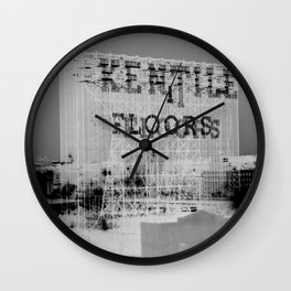 Kentile Floors BKLYN Wall Clock
