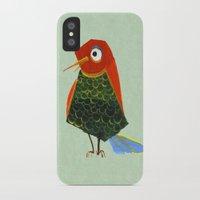 birdy iPhone & iPod Cases featuring Birdy by KristinaVardazaryan