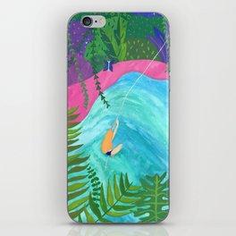 Tropical Pool Adventure iPhone Skin
