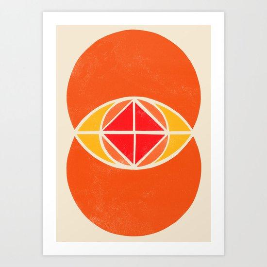 Vesica Piscis 2 Art Print