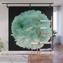 Fantasy Sea Anemone in Green Wall Mural