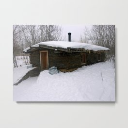 Old Sod House Metal Print
