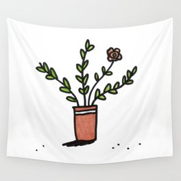 Pretty Plant 1 Wall Tapestry