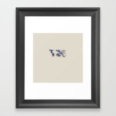 Stares to Nowhere Framed Art Print