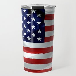 The American Flag Travel Mug