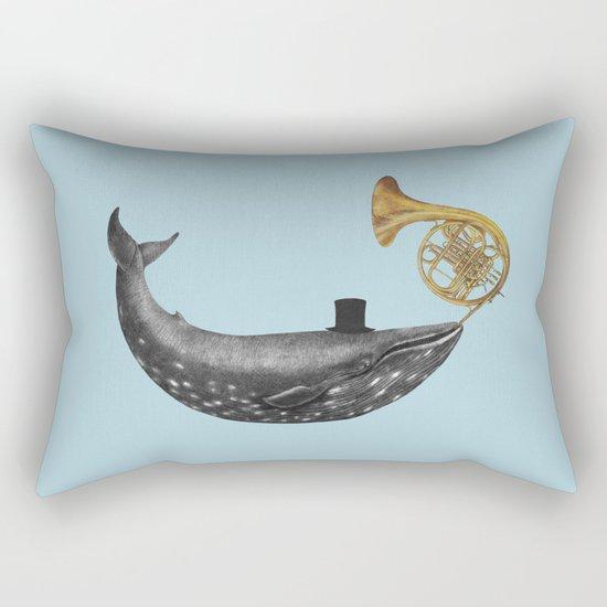 Whale Song - colour option Rectangular Pillow