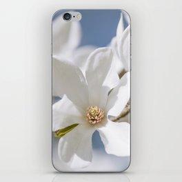 White Magnolia iPhone Skin