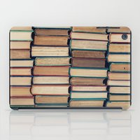 bookworm iPad Cases featuring Bookworm by Laura Ruth