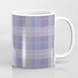 AFE Purple Plaid Pattern Coffee Mug