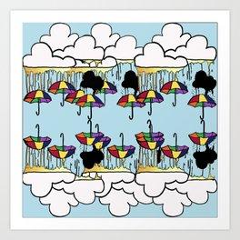 Umbrella, Ella, Ella, A, A, A Art Print