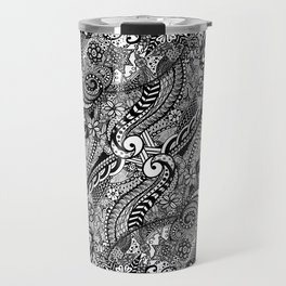 Zentangle Perception Travel Mug
