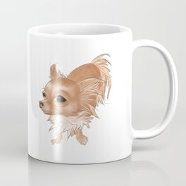 Suspicious Chihuahua Coffee Mug