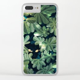 Where´s the kitty? Clear iPhone Case