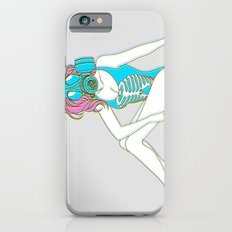 The Last Girl in the World ( Gas Mask Pin-up ) iPhone 6s Slim Case