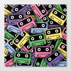 80's Kicks! Canvas Print