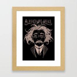 Albert Einstein Framed Art Print