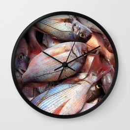Fresh fish Wall Clock