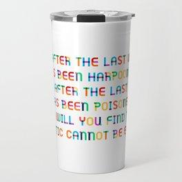 The last Fish Travel Mug