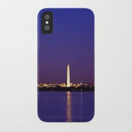 Washington Across the Potomac iPhone Case