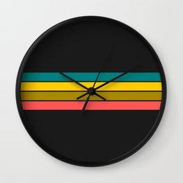 Retro home design Wall Clock