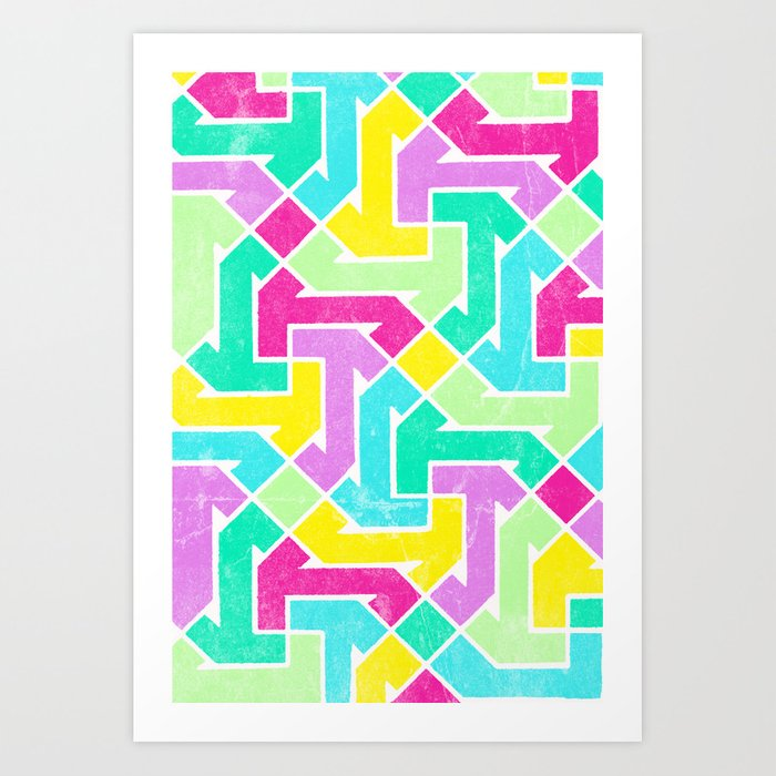 Azimuth Art Print