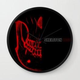 Glow Skull Wall Clock