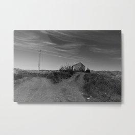 House in ruins Metal Print