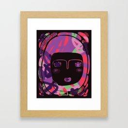 Protect_BLACK Framed Art Print