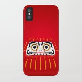 Japan Serie 1 - DARUMA iPhone Case