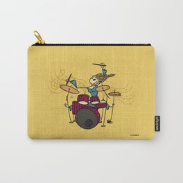 Crazy drummer Carry-All Pouch