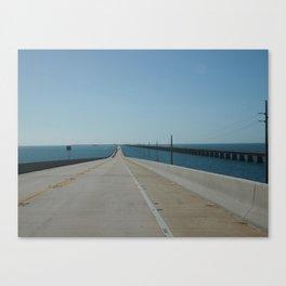 Overseas Highway Canvas Print