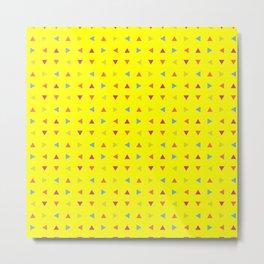 yellow eye Metal Print