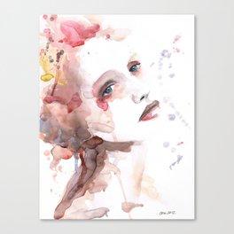 Ild (flame) Canvas Print
