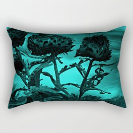 Thistle Warp Rectangular Pillow
