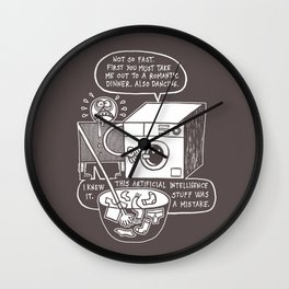 Rise of the Machine Wall Clock