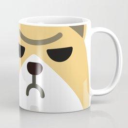 Grumpy Corgi Coffee Mug