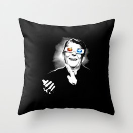 Reaganesque Throw Pillow