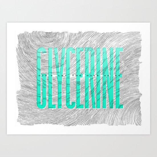 Glycerine Art Print